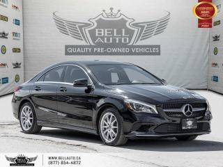 Used 2018 Mercedes-Benz CLA-Class CLA 250, AWD, NAVI, REARCAM, B.SPOT, PANO, NO ACCIDENT for sale in Toronto, ON