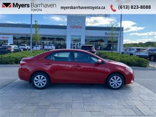 Used 2016 Toyota Corolla LE  -  Heated Seats -  Bluetooth - $88 B/W for sale in Ottawa, ON