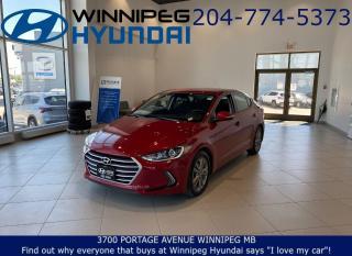 Used 2018 Hyundai Elantra GL for sale in Winnipeg, MB