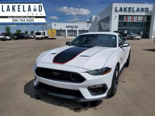 New 2021 Ford Mustang Mach 1  - Navigation -  Wi-Fi for sale in Prince Albert, SK
