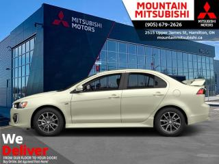 Used 2017 Mitsubishi Lancer SE Limited  - Bluetooth - $137 B/W for sale in Mount Hope (Hamilton), ON