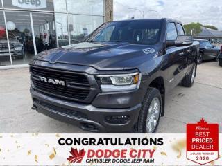 Used 2020 RAM 1500 Big Horn-4WD,V8,Accident Free,B/U Cam,Remote Start for sale in Saskatoon, SK