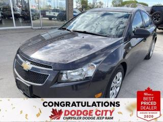 Used 2014 Chevrolet Cruze 2LS- Accident Free, Keyless Entry for sale in Saskatoon, SK