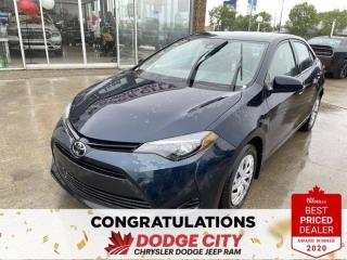 Used 2019 Toyota Corolla - Accident Free, Back Up Camera for sale in Saskatoon, SK