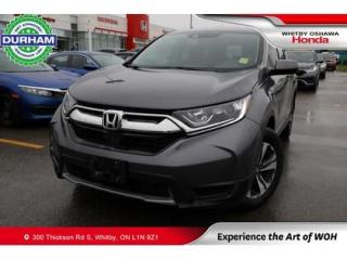 Used 2019 Honda CR-V LX FWD   CVT   Android Auto/Apple CarPlay for sale in Whitby, ON