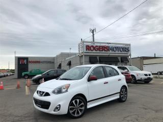 Used 2016 Nissan Micra 2.99% Financing - SR - REVERSE CAM - BLUETOOTH for sale in Oakville, ON