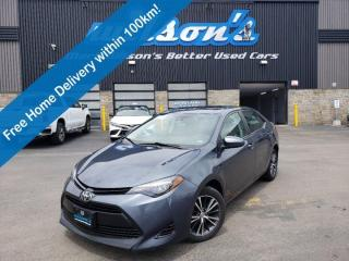 Used 2017 Toyota Corolla LE Upgrade, Sunroof, Heated Seats, Adaptive Cruise Control+Lane Departure Warning and More! for sale in Guelph, ON