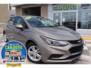 Used 2017 Chevrolet Cruze LT   One Owner, Heated Seats. for sale in Prince Albert, SK