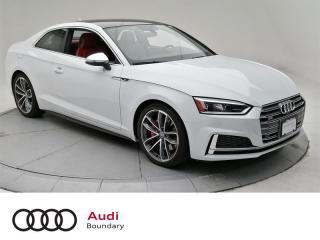 Used 2018 Audi S5 3.0T Technik quattro 8sp Tiptronic Cpe for sale in Burnaby, BC