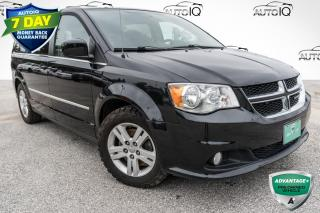 Used 2016 Dodge Grand Caravan Crew 3 ZONE A/C! POWER DRIVER SEAT! for sale in Barrie, ON