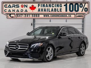 Used 2017 Mercedes-Benz E-Class E300 4MATIC AMG Pkg, Navigation, Panoramic, Blind Spot for sale in Vaughan, ON