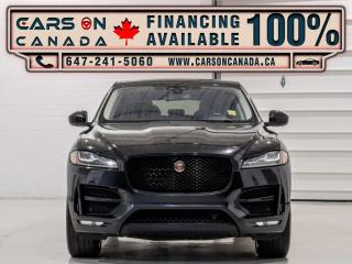 Used 2017 Jaguar F-PACE AWD 35t R-Sport Navigation, Camera, No Accidents for sale in Vaughan, ON