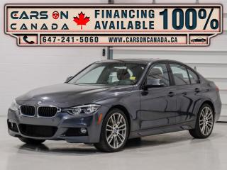 Used 2017 BMW 3 Series 330i xDrive Red Interior, Premium Exhanced, HUD, Loaded for sale in Vaughan, ON
