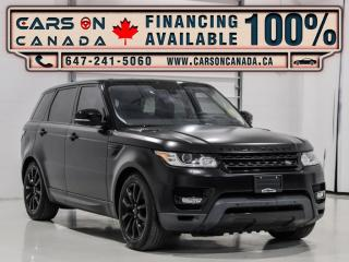 Used 2016 Land Rover Range Rover Sport 4WD 4dr Td6 HSE for sale in Vaughan, ON