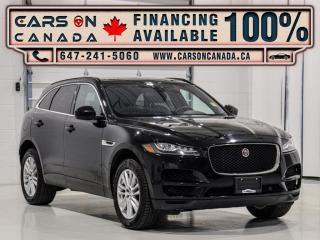 Used 2018 Jaguar F-PACE 25t AWD Prestige, Navi, Panoramic, Factory Warranty for sale in Vaughan, ON