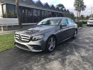 Used 2018 Mercedes-Benz E-Class E 300 4MATIC Sedan for sale in Vaughan, ON