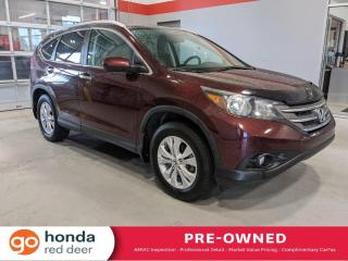 Used 2013 Honda CR-V Touring for sale in Red Deer, AB