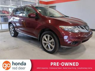 Used 2012 Nissan Murano LE for sale in Red Deer, AB
