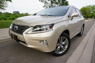 Used 2013 Lexus RX 350 1 OWNER / ULTRA PREMIUM / HUD / STUNNING COMBO for sale in Etobicoke, ON