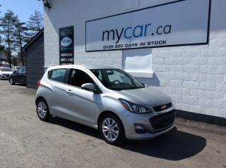 Used 2020 Chevrolet Spark ALLOYS, BACKUP CAM, APPLE CAR PLAY!! for sale in North Bay, ON