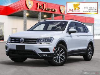 Used 2018 Volkswagen Tiguan Comfortline Leather,Loaded,Nav.,Pano Roof for sale in Brandon, MB