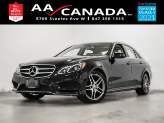 Used 2015 Mercedes-Benz E-Class E 400 for sale in North York, ON