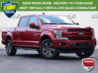Used 2020 Ford F-150 Lariat 4WD  | 2.7L V6 | CLASS IV TRAILER HITCH RECEIVER | LARIAT SPORT APPEARANCE PACKAGE for sale in Waterloo, ON