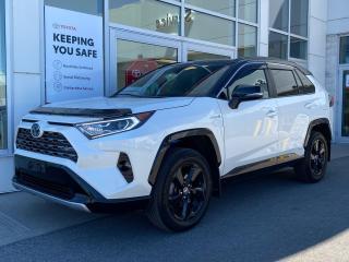 Used 2020 Toyota RAV4 Hybrid XLE XSE TECHNOLOGY PKG+PLATINUM WARRANTY-100,000 KMS! for sale in Cobourg, ON