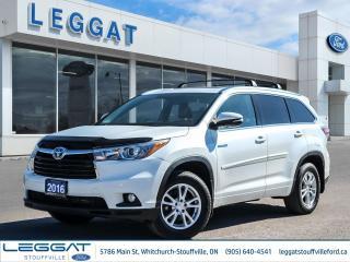 Used 2016 Toyota Highlander Hybrid Limited for sale in Stouffville, ON