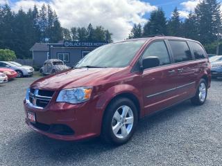 Used 2014 Dodge Grand Caravan SE for sale in Black Creek, BC