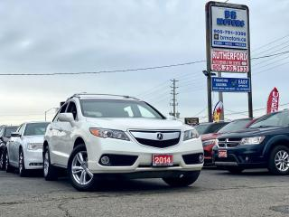 Used 2014 Acura RDX No Accidents  AWD   Tech Pkg   Loaded   Certified for sale in Brampton, ON