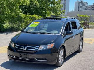 Used 2016 Honda Odyssey EX-L LEATHER/SUNROOF/DVD/REAR CAMERA for sale in North York, ON