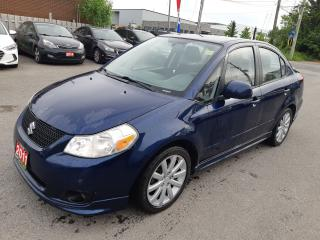 Used 2011 Suzuki SX4 Sport, AUTOMATIC, A/C, ACCIDENT FREE for sale in Ottawa, ON