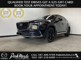 New 2021 Mazda CX-9 Kuro Edition for sale in Sherwood Park, AB