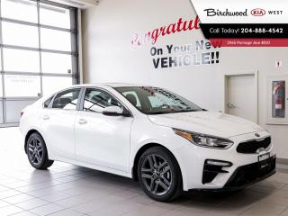 New 2021 Kia Forte EX+ 0% FOR 84 MONTHS! for sale in Winnipeg, MB