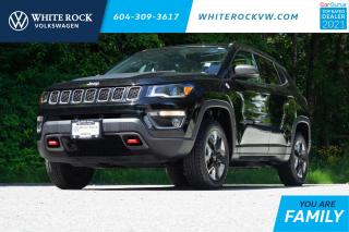 Used 2018 Jeep Compass Trailhawk *ADVANCED SAFETY AND LIGHTING* *LEATHER* *NAVIGATION* *DOUBLE PANE SUNROOF* for sale in Surrey, BC
