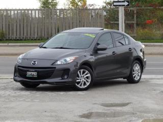 Used 2012 Mazda MAZDA3 GS-SKY,TOURING,LEATHER,TOP OF LINE,FULLY LOADED,CERTIFIED for sale in Mississauga, ON