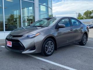 Used 2017 Toyota Corolla LE-HEATED SEATS+BACK-UP CAM! for sale in Cobourg, ON