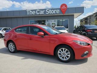 Used 2015 Mazda MAZDA3 Auto GS bluetooth , Heat Seats, Rear Cam CLEAN for sale in Winnipeg, MB