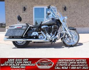 Used 2009 Harley-Davidson ROAD KING FULL CUSTOM, LOTS OF $ SPENT ON EXTRAS, VERY SHARP for sale in Headingley, MB