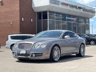 Used 2005 Bentley Continental GT NAVI/UPGRADED 21 INCH WHEELS/ONLY 75,000 KM'S for sale in Concord, ON