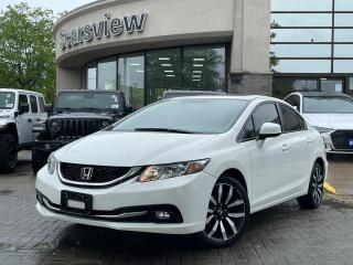 Used 2015 Honda Civic Sedan Touring for sale in Scarborough, ON