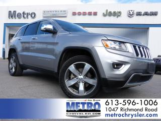 Used 2015 Jeep Grand Cherokee Limited 4x4 Fully Loaded for sale in Ottawa, ON