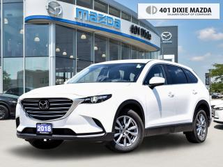 Used 2018 Mazda CX-9 GS 0.99% FINANCE AVAILABLE| ONE OWNER| BLINDSPOT M for sale in Mississauga, ON