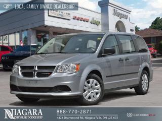 Used 2016 Dodge Grand Caravan CVP | LOCAL TRADE for sale in Niagara Falls, ON