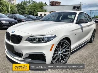 Used 2019 BMW M2 40 i xDrive RARE M-PERFORMANCE EDITION  LEATHER  ROOF for sale in Ottawa, ON