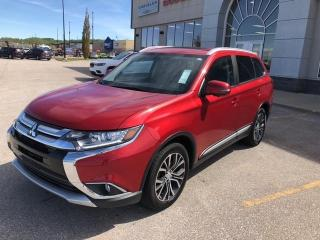 Used 2017 Mitsubishi Outlander ES AWD, LEATHER, SUNROOF,NO ACCIDENTS for sale in Slave Lake, AB