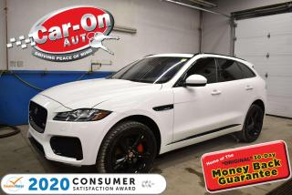 Used 2017 Jaguar F-PACE S | TWO TONE LEATHER | HUD DISPLAY | 20'' BLACK AL for sale in Ottawa, ON