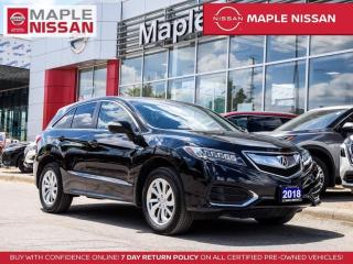 Used 2018 Acura RDX Tech AWD Blind Spot Moonroof Navi Bluetooth Camera for sale in Maple, ON