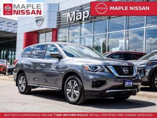 Used 2018 Nissan Pathfinder S 4x4 Bluetooth Backup Camera Alloys 7 Seater for sale in Maple, ON